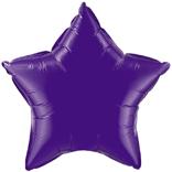 Purple Star Balloon