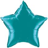 Teal Star Balloon