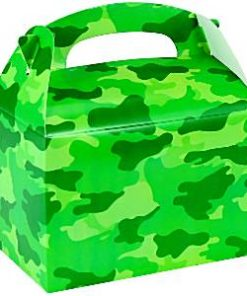 Army Camouflage Party Box