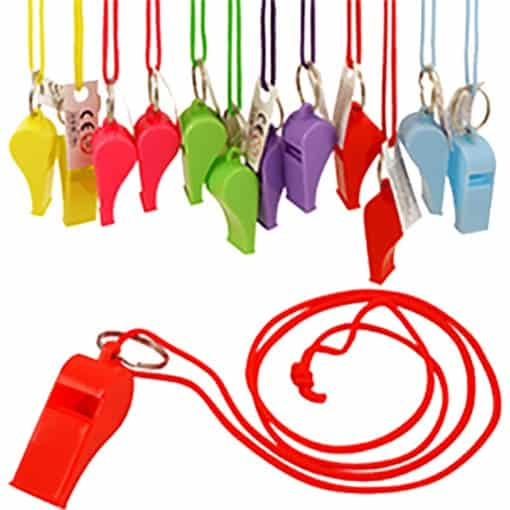 Multicolour Whistles