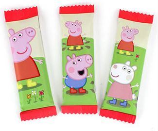 Peppa Pig Themed Chocolate Bars
