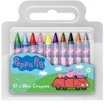 Peppa Pig Chunky Crayons Pk 10