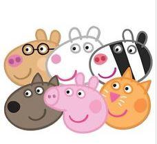 Peppa Pig Masks - Pack 6