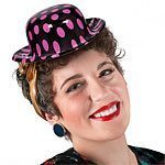 Rock N Roll Grease 50s Classic Mini Hat - each