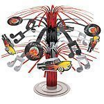 Rock N Roll Grease 50s Classic 18cm Mini Cascade Centrepiece