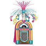 Rock N Roll Grease 50s Rock 'n' Roll Jukebox Centrepiece