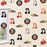 Rock N Roll Grease 50s Classic 2.1m String Decorations