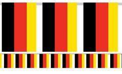 German Flag Bunting - Plastic 7m