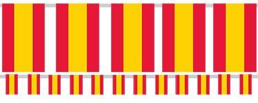 Spanish Flag Bunting - Plastic 7m