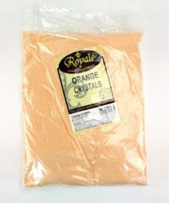 3kg bag of orange crystal sweets