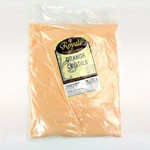 3kg bag of orange crystal sweets