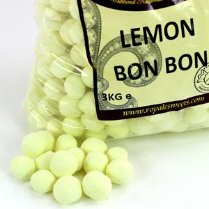 Cheap big bags of lemon yellow seets for sweet tables