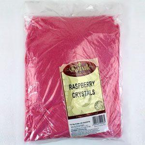Raspberry Pink Crystals Bulk Tub - 3kg