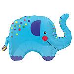 Elephant Supershape Foil Balloon
