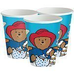 Paddington Bear Party Cups - 266ml Paper Pk 8