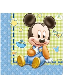 Baby Mickey Party Paper Napkins