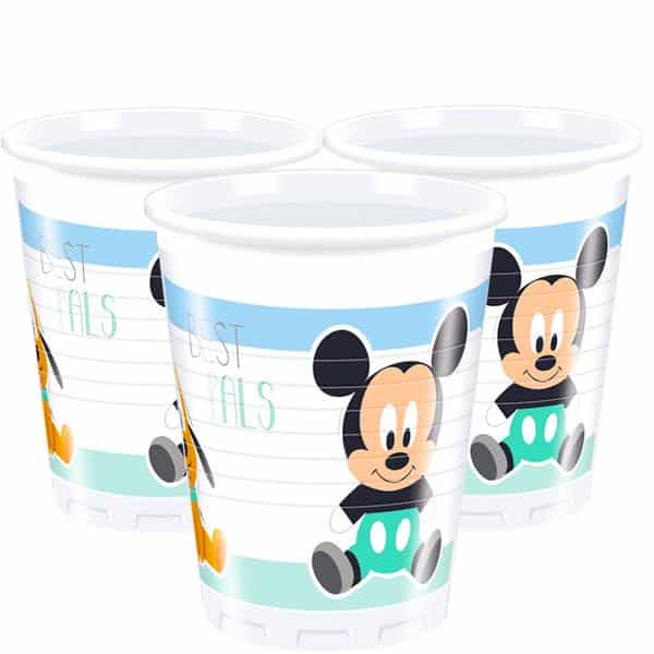 Baby Mickey Plastic Party Cups