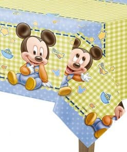 Baby Mickey Plastic Tablecover