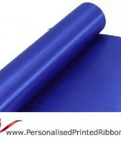 Royal Blue Extra Wide Satin Ribbon 290mm -  20 metre Roll