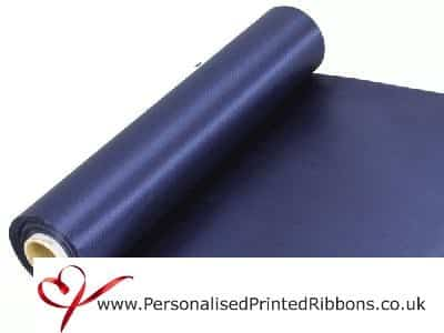 Navy Blue Extra Wide Satin Ribbon 290mm -  20 metre Roll