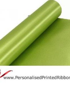 Apple Green Extra Wide Satin Ribbon 290mm -  20 metre Roll