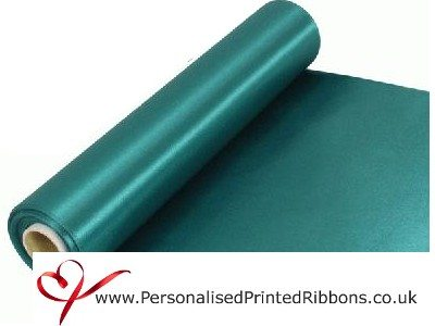 Emerald Green Extra Wide Satin Ribbon 290mm -  20 metre Roll