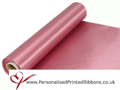 Dusky Pink Extra Wide Satin Ribbon 290mm -  20 metre Roll