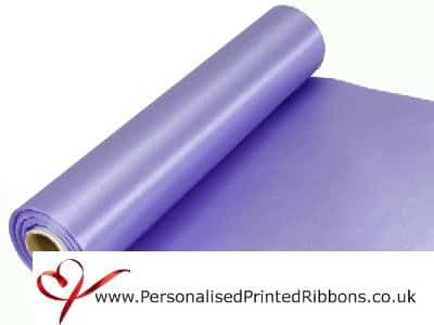 Lavender Extra Wide Satin Ribbon 290mm -  20 metre Roll