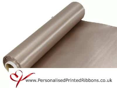 Vintage Champagne Extra Wide Satin Ribbon 290mm -  20 metre Roll
