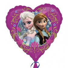 Disney Frozen 18'' Heart Shaped Foil Balloon - each
