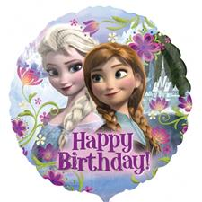 Disney Frozen 18'' Happy Birthday Foil Balloon - each