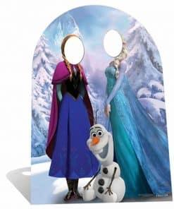 Disney Frozen Anna, Elsa & Olaf Stand-in Cardboard Cutout