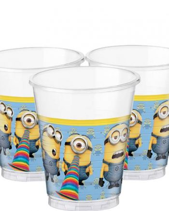 Minions Party Plastic Cups