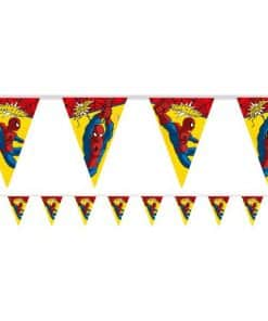 Ultimate Spider-Man Party Plastic Bunting