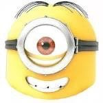 Minion Stuart mask