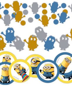 Minions Despicable Me Table Confetti