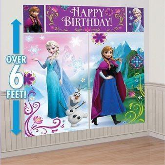 Disney Frozen Scene Setter Decorating Kit