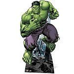 Avengers Incredible Hulk Lifesize Cardboard Cutut 195cm Tall