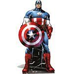 Avengers Captain America Lifesize Cardboard Cutut 195cm Tall