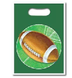Rugby Party Loot Bags Pk 8