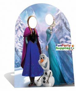 Disney Frozen Anna, Elsa & Olaf Cardboard Stand In 127cm