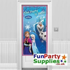 Disney Frozen Party Door Banner 1.5m