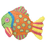 Neon Fish Pinata - each