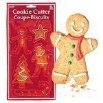 Christmas Cookie Cutters pk 5