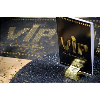 VIP Gold Bar Name Holder