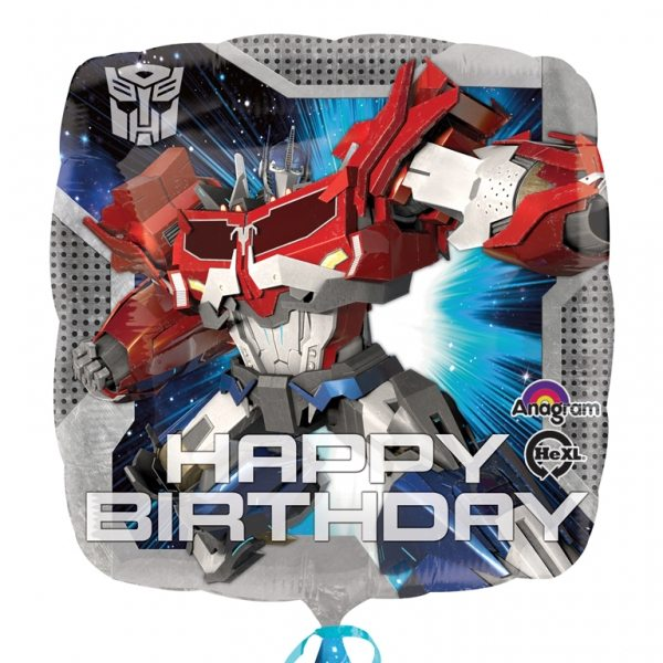 Transformers Square Balloon Foil