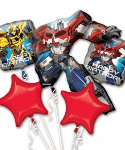 Transformers Supershape Balloon Bouquet