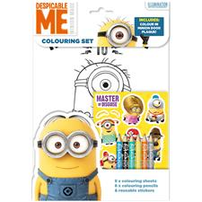 Despicable Me Coluring Pack