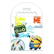 Despicable Me Carry Along Colouring Set