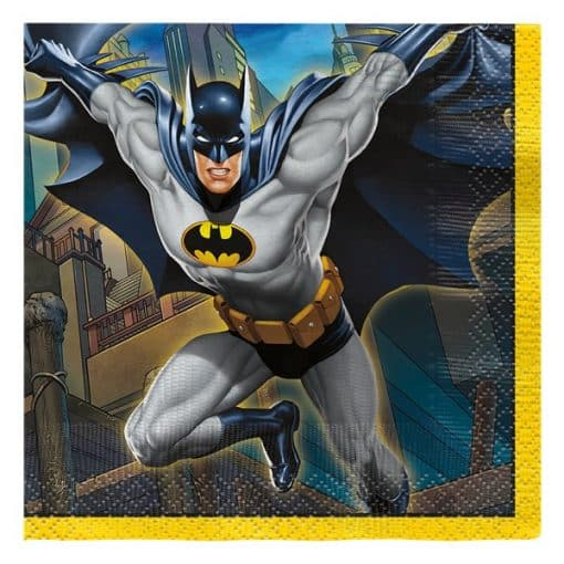 Batman Party Beverage Napkins